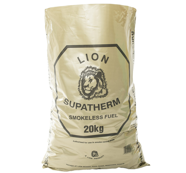 Lion Supatherm Smokeless Fuel 20kg